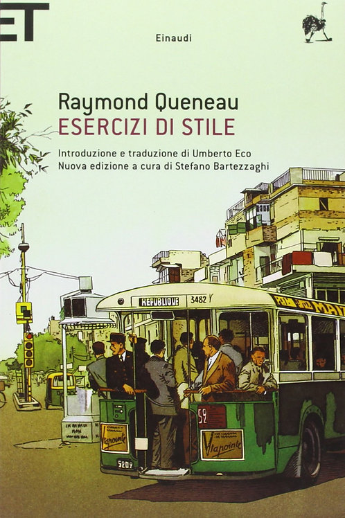Esercizi di stile. Testo francese a fronte di Queneau Raymond