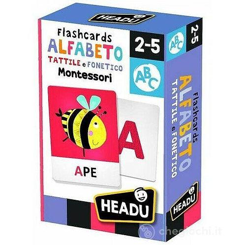 Flashcards. Alfabeto tattile e fonetico