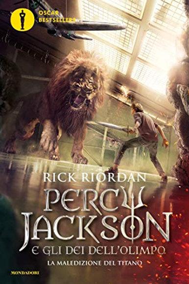 Percy Jackson e gli Dei dell'Olimpo - 3. La maledizione del titano di Rich Riord