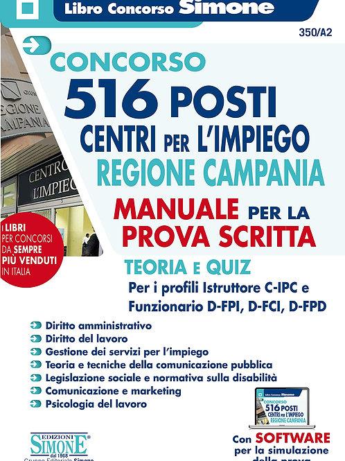 Concorso 516 Posti centri per l'impiego Regione Campania - Manuale Per La Prova