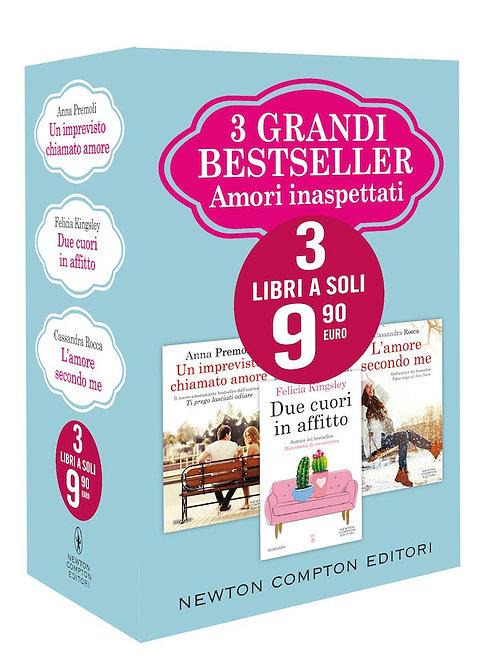 3 grandi bestseller. Amori inaspettati: Un imprevisto chiamato amore-Due cuori..