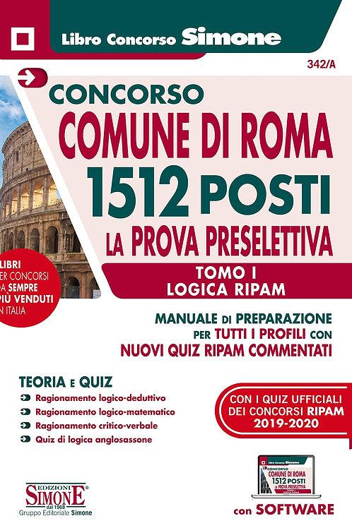 Concorso comune di Roma 1512 posti tomo I