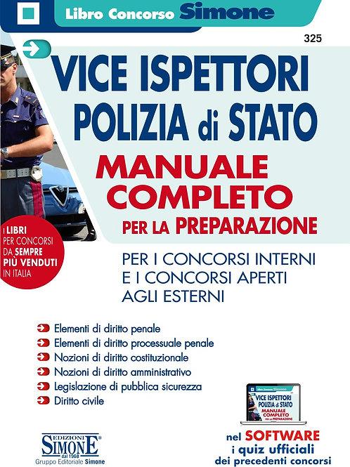 Vice ispettori Polizia di Stato manuale