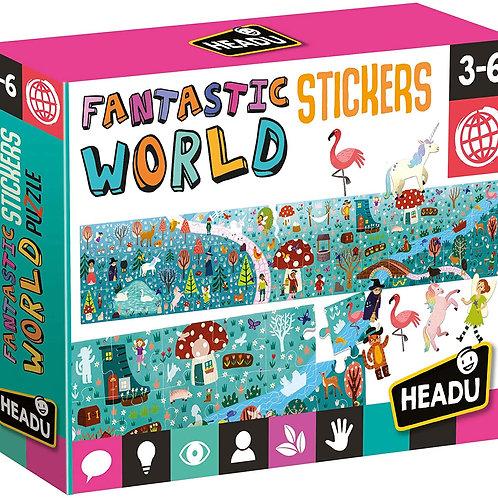 Fantastic World Stickers