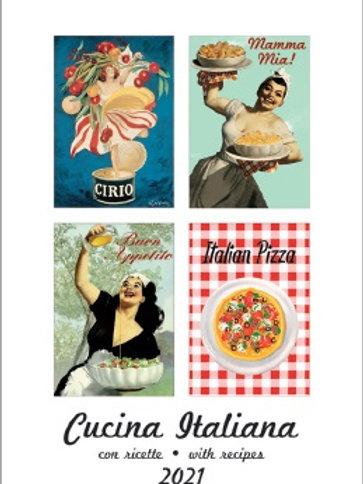 Calendario 2021 Cucina italiana
