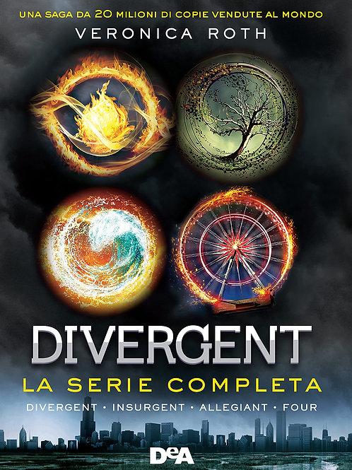 Divergent. La serie: Divergent-Insurgent-Allegiant-Four di Veronica Roth