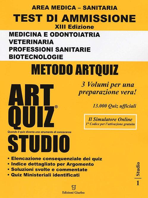 Artquiz Studio. XIII Edizione A.A.2020-21. Test Di Ammissione per Medicina, Odo