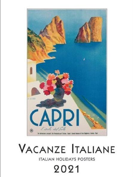 Calendario 2021 Vacanze italiane