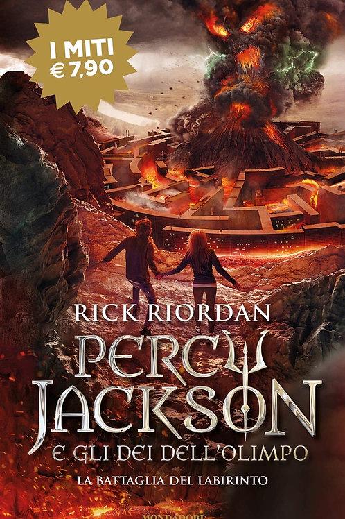 La battaglia del labirinto. Percy Jackson e gli dei dell'Olimpo di Rick Riordan