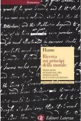 Ricerca sui principi della morale di Davide Hume