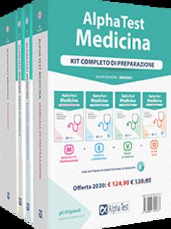 Alpha Test Medicina. Kit completo di preparazione