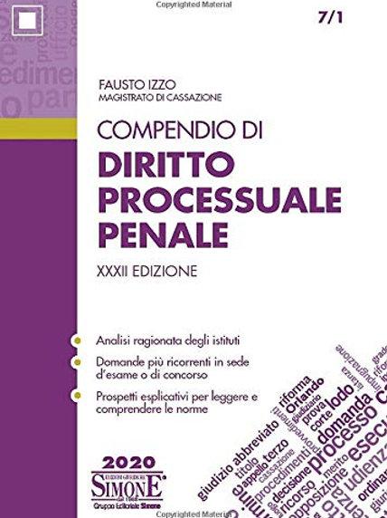 Compendio di diritto processuale penale