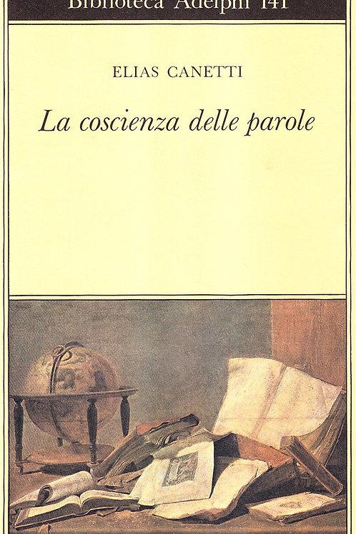 La coscienza delle parole di Elias Canetti