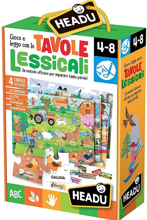 Puzzle Multitavole Lessicali Prime Parole