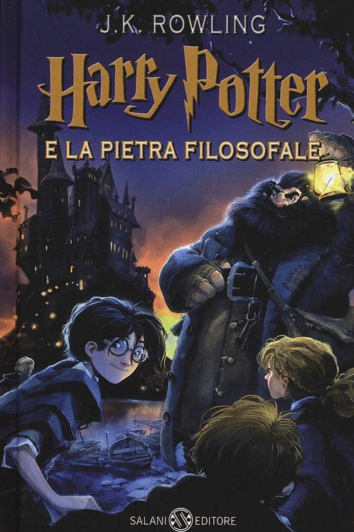 Harry Potter e la pietra filosofale: 1 di J. K. Rowling