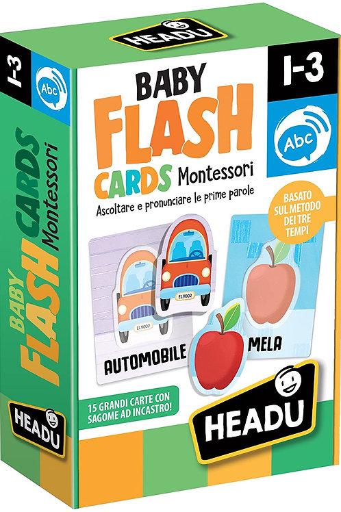 Baby flashcards. Montessori