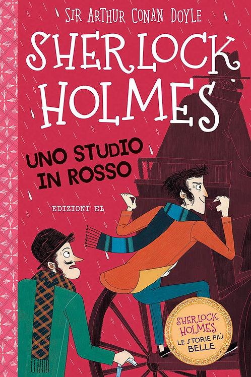 Sherlock Holmes. Uno studio in rosso di Doyle Arthur Conan; Baudet Stephanie