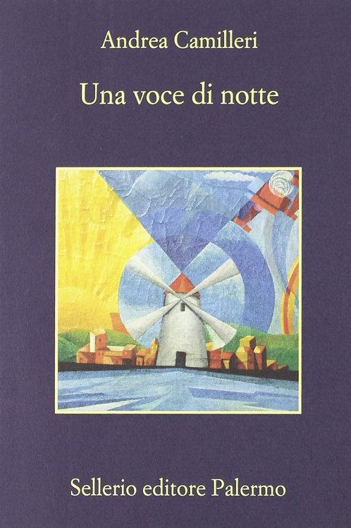 Una voce di notte di Andrea Camilleri - Sellerio