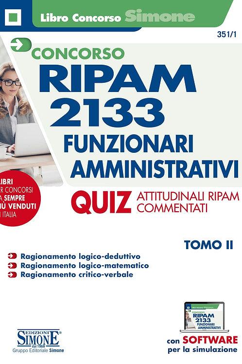 Concorso Ripam 2133 funzionari amministrativi