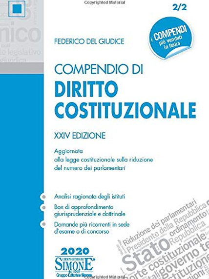 Compendio di diritto costituzionale di Federico Del Giudice