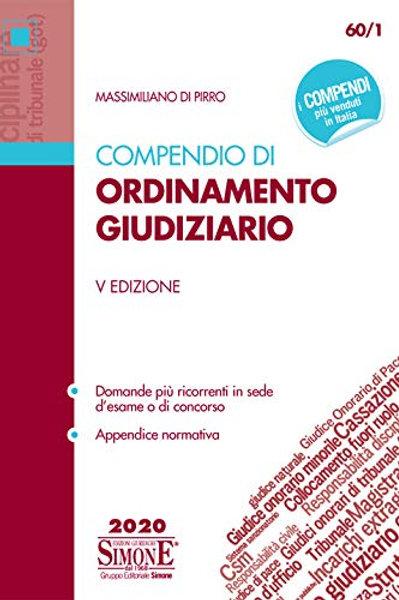 Compendio di ordinamento giudiziario di Massimiliano Di Pirro
