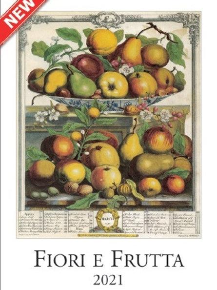 Calendario 2021 Fiori e frutta