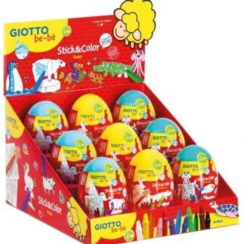GIOTTO be-bè.Uovo stick & color