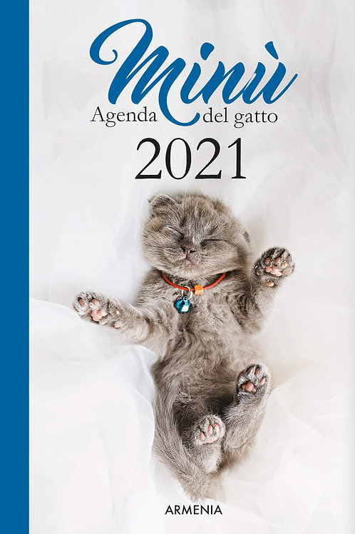 Minù agenda del gatto 2021
