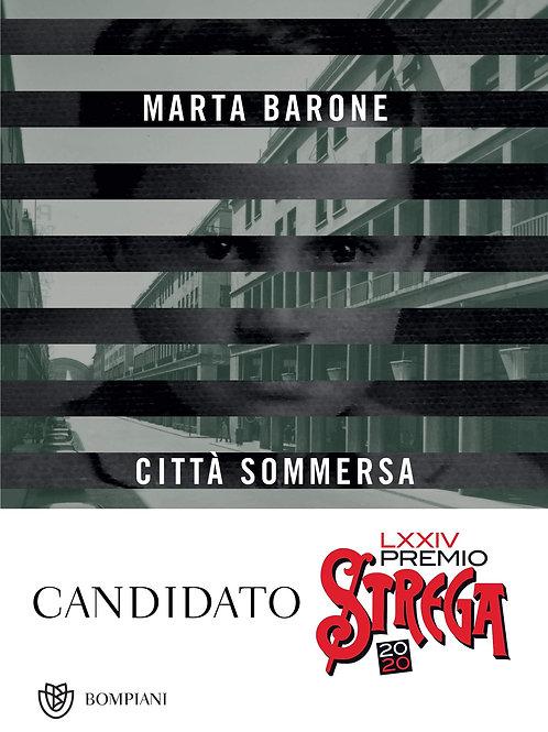 Città sommersa di Marta Barone - Bompiani
