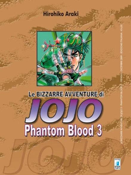 Jojo Phantom Blood n°3
