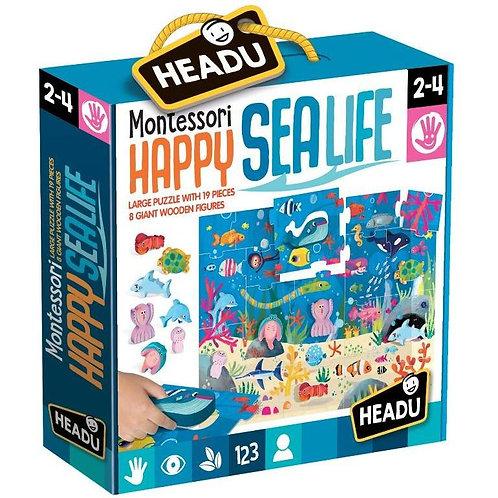 Happy sealife. Montessori - HEADU