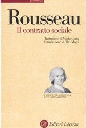 Il contratto social di Jean Jacques Rousseau