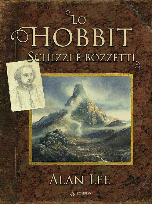 Lo Hobbit schizzi e bozzetti di Alan Lee