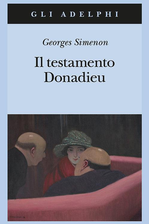 Il testamento Donadieu di Georges Simenon