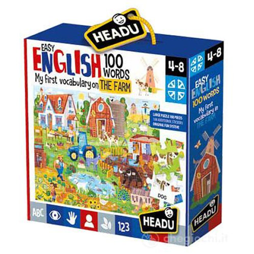 Easy english 100 words. The farm
