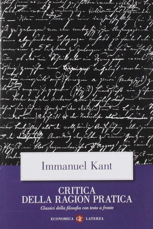 Critica della Ragion Pratica di Immauel Kant