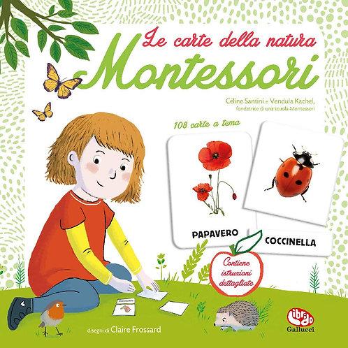 Le carte della natura Montessori. 108 carte a tema
