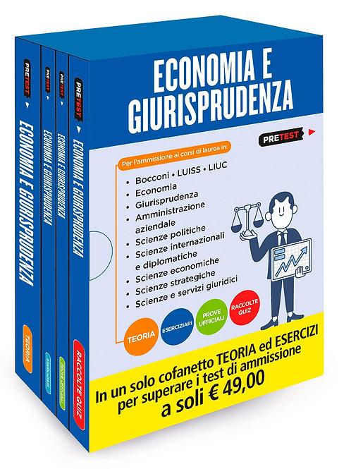 Economia e giurisprudenza. Teoria-eserciziari-prove ufficiali-raccolte quiz