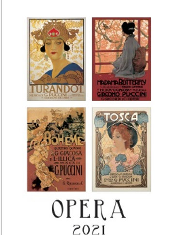 Calendario 2021 Opera