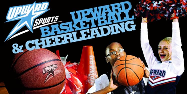 upward basketball and cheerleading image