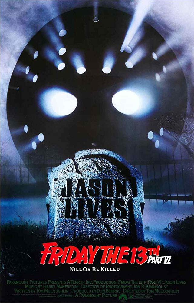 FILE PHOTO: A Poster of FRIDAY THE 13TH. PART VI: JASON LIVES (1986). ©Paramount Pictures
