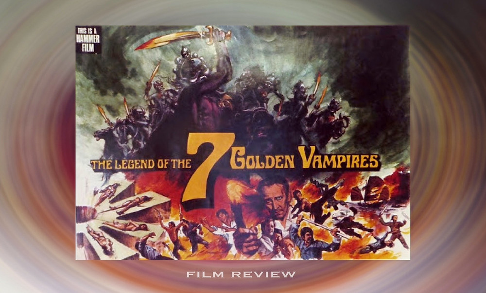 FILE PHOTO: An art work for pitching The Legend of the 7 Golden Vampires to investors. ©Hammer Film Productions