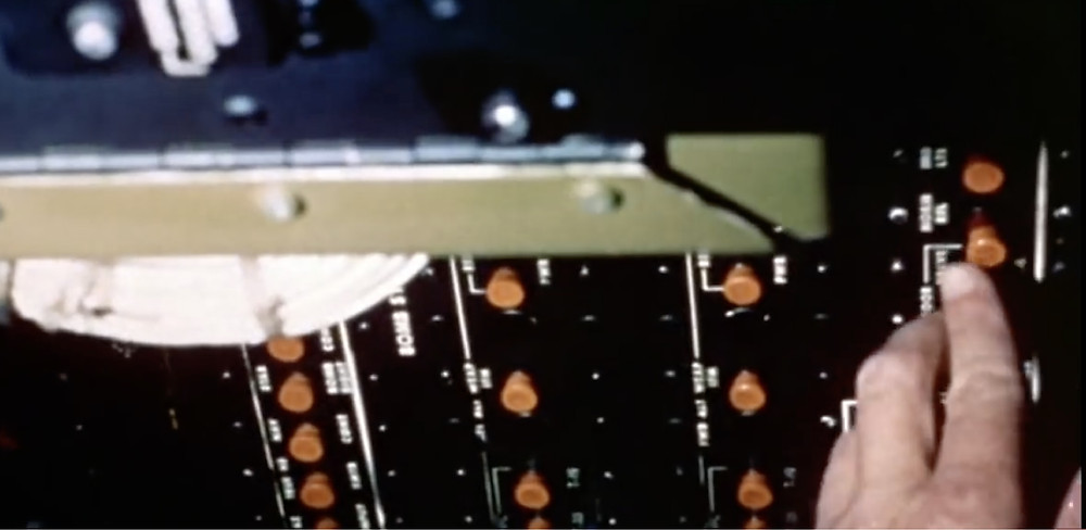 Fig.24:  Footage shows control panel of bomber.  ©Youtube