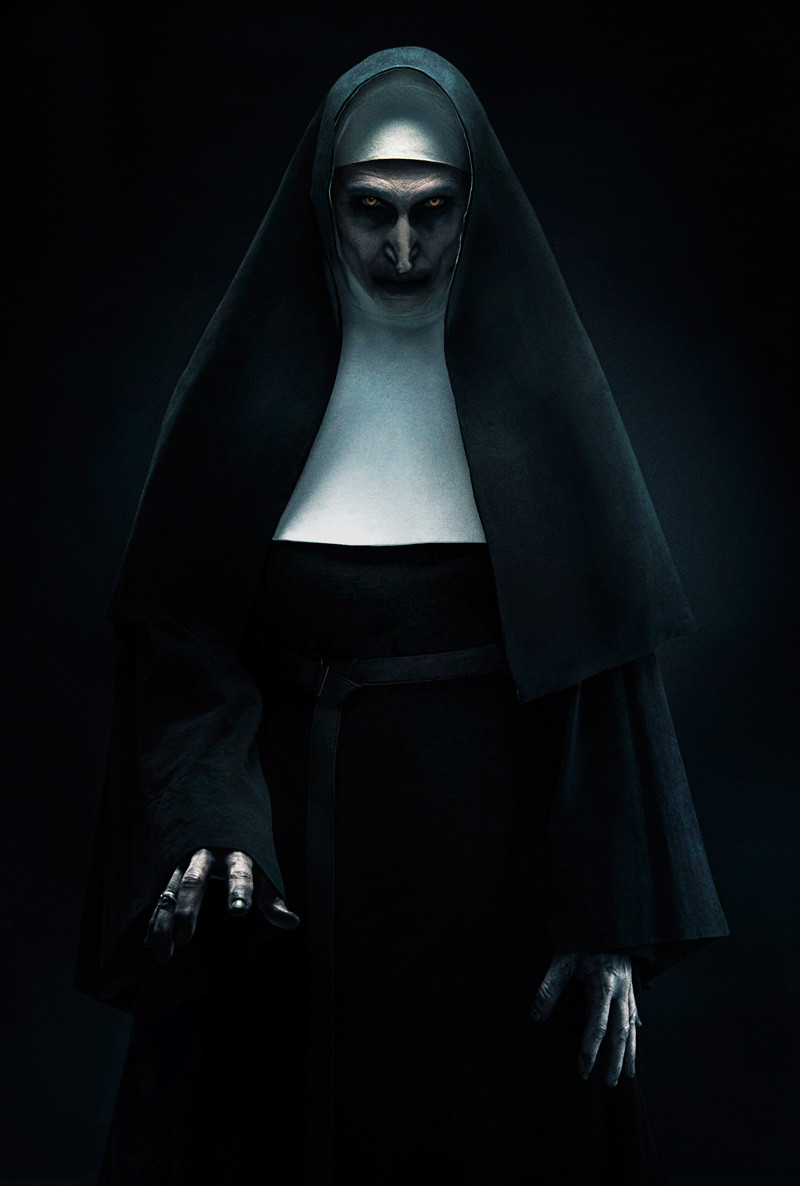 FILE PHOTO: A Paint of THE NUN (2018).  ©New Line Cinema