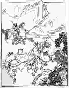 FILE PHOTO: Baigujing in the novel Journey to the West (1500s).  ©Public Domain