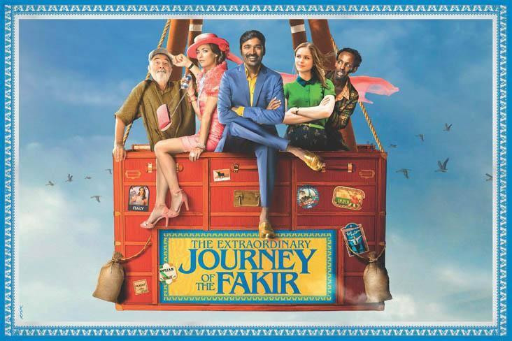 FILE PHOTO: A Poster of THE EXTRAORDINARY JOURNEY OF THE FAKIR (2018).  ©Sony Pictures Entertainment Inc.