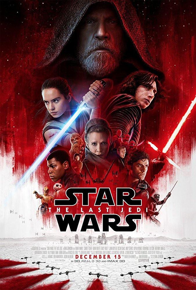 FILE PHOTO: A Poster of STAR WARS THE LAST JEDI (2017). ©Lucasfilm Ltd. LLC