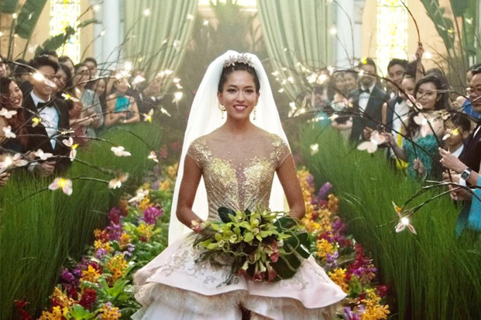 FILE PHOTO: A Still Image of CRAZY RICH ASIANS (2018). ©Warner Bros. Entertainment, Inc.