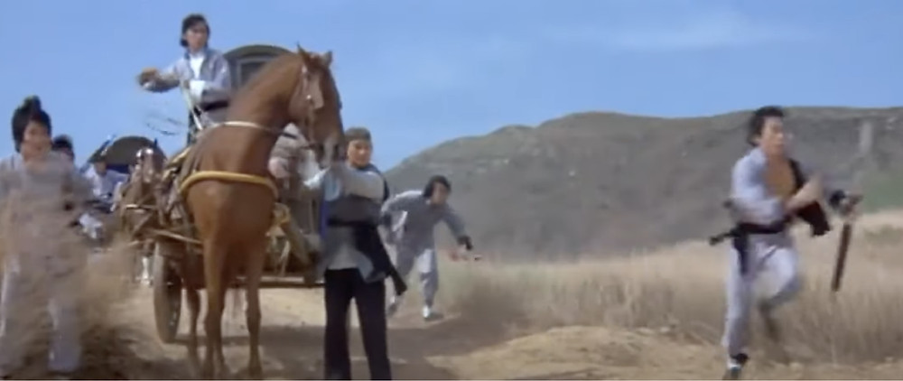 FILE PHOTO: Fig.10 The protagonists in the wilderness of mainland. © Hammer Film Productions / Shaw Brothers