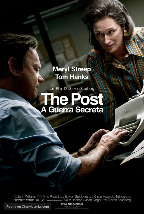 FILE PHOTO: A Poster of THE POST (Dir. Steven Spielberg, 2018).  ©Twentieth Century Studios